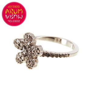 White Gold Ring with Brilliants 0.69 cts. RAJ366
