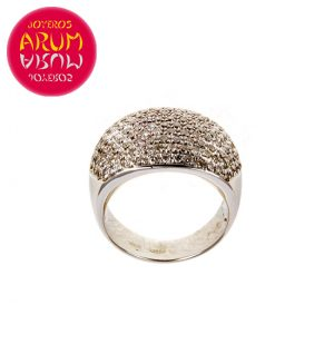 White Gold Ring with Brilliants 1.77 cts. RAJ374