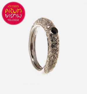 White Gold Ring with Brilliants 1.12 cts RAJ386