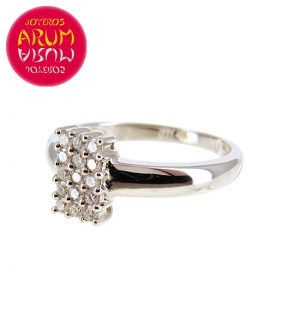 White Gold Ring with 0.38 cts. RAJ70