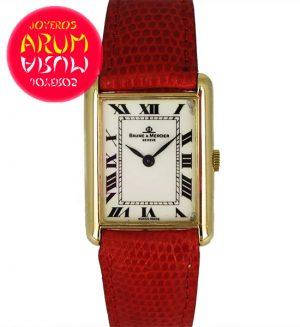 Baume & Mercier Classique Gold ARUM Ref. 2934