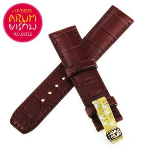 Baume & Mercier Strap Brown Crocodile Leather 20 - 18 RAC107