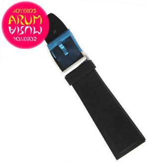 Breitling rubber strap Black  24-20