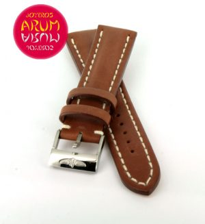 Breitling Strap Brown Leather 20 - 18