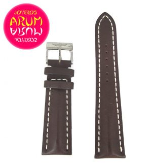 Breitling Strap Brown Leather 24 - 20