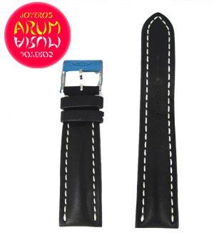Breitling Strap Black Leather 24 - 20