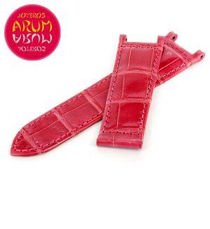 Cartier Strap Pasha Pink Crocodile Leather KD1HSP13