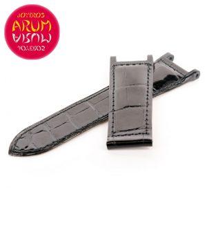 Cartier Strap Pasha Black Crocodile Leather KD1HS037
