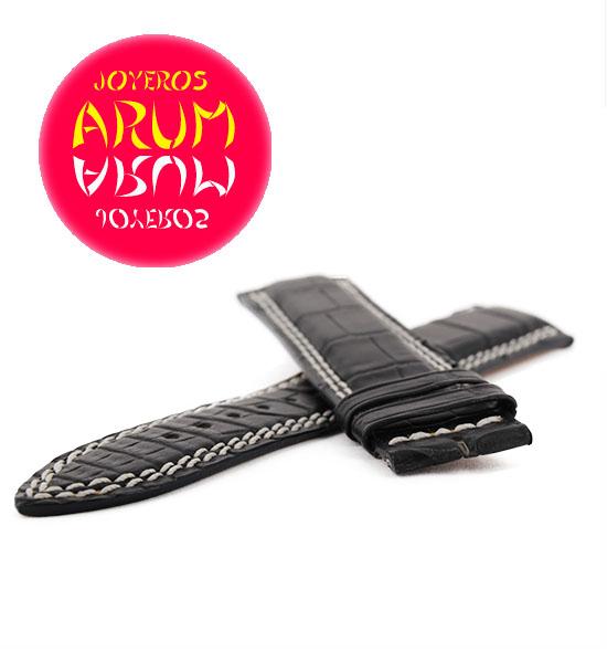 Z Jaeger-LeCoultre Strap Black Crocodile Leather 21 - 18 QC21B8F