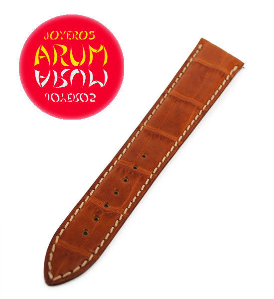 Z Jaeger-LeCoultre Strap Crocodile Brown Leather M-D 19 - 16