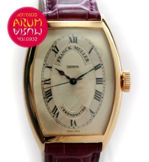 Frank Muller Chronometro Ref.ARUM 3071