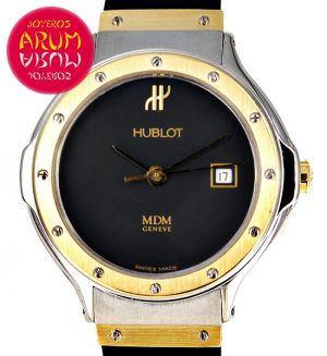 Hublot Classic Steel & Gold 28mm ARUM Ref. 3491