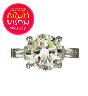 Ring Diamond 3,29 ct Ref.ARUM RAJ218