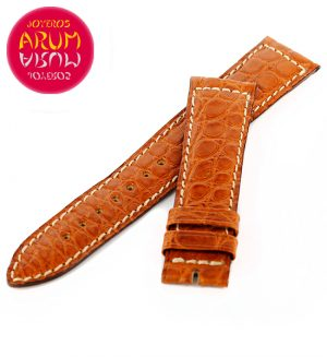 Z Jaeger-LeCoultre Strap Crocodile Brown Leather C-I 18 - 16