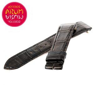 Z Jaeger-LeCoultre Crocodile Black Leather K-C 18 - 16