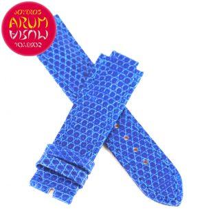 Cartier Strap Blue Leather KD2HQ008 18 - 16
