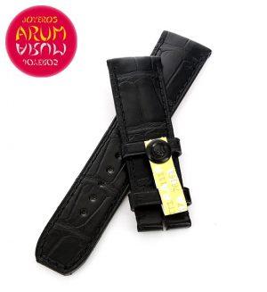 Baume & Mercier Strap Black Crocodile Leather 22 - 20 RAC98