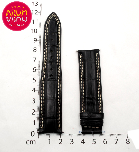 Z Jaeger-LeCoultre Strap Black Crocodile Leather 21 - 18 RAC145