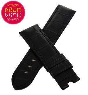 Z Panerai Strap Black Crocodile Leather 22 - 20 RAC13