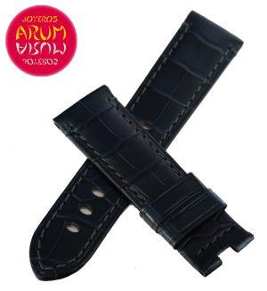 Z Panerai Strap Blue Crocodile Leather 22 - 20