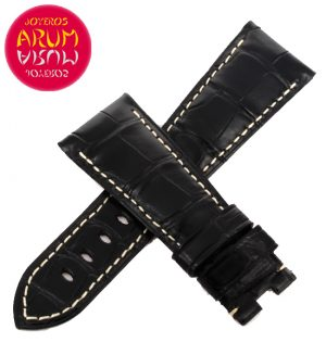 Z Panerai Strap Black Crocodile Leather 26 - 20 RAC88