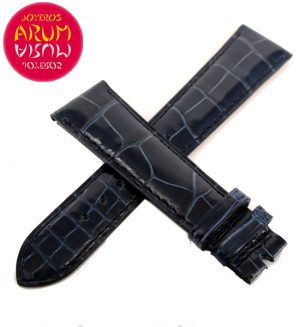 Z Patek Philippe Strap Blue Crocodile Leather 20 - 16 RAC79
