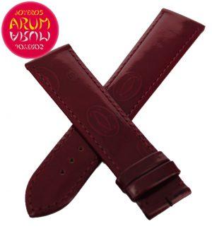 Cartier Strap Bordeaux Leather with Prints KD98BX52 RAC18