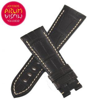 Z Panerai Strap Brown Crocodile Leather 27 - 20