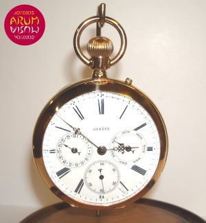 Geneve Day Date Pocket Watch ARUM Ref. 2279
