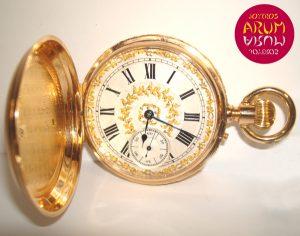 Huguenin & Fils Pocket Watch ARUM Ref. 2228