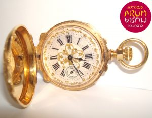 J.Trilla Geneve Pocket Watch