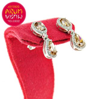 White Gold Earrings with 0.30 and 2.01 cts RAJ432