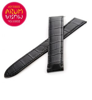 Z Piaget Strap Black Crocodile Leather 18 - 16