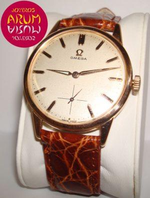 Omega Vintage Pink Gold