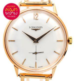 Longines Vintage Rose Gold ARUM Ref. 3366/2