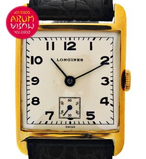 Longines Vintage Yellow Gold ARUM Ref. 3598/2