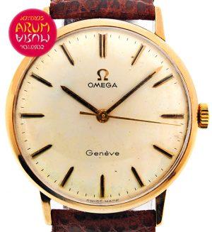 Omega Vintage Rose Gold ARUM Ref. 3582/2