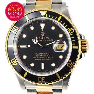 9becb271712 ... Rolex Submariner Steel   Gold ARUM Ref. 1701 2