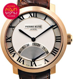 Pierre Kunz Retrograde Seconds ARUM Ref. 3518/2