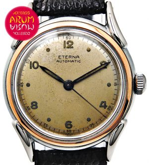 Eterna Vintage Steel & Gold Shop Ref. 3674/372/2