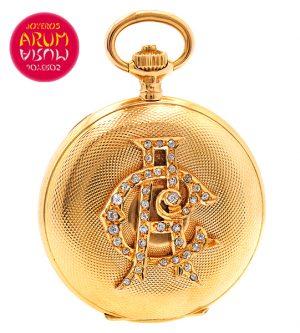 Longines Pocket Watch 18K Gold Shop Ref. 3644/343/2