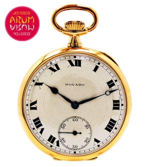 Movado Pocket Watch Shop Ref. 3641/340/2
