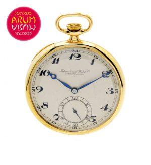 IWC Pocket Watch 18K Gold Shop Ref. 3765/469