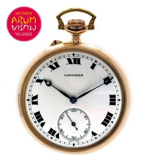 Longines Pocket Watch 18K Gold Shop Ref. 3806/520