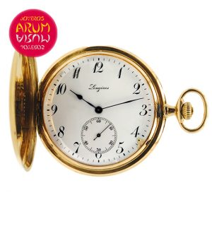 Longines Pocket Watch 18K Gold Shop Ref. 3836/552