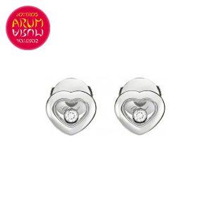Chopard Happy Diamonds Earrings White Gold RAJ911