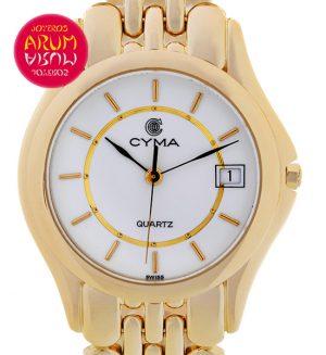 Cyma Classic 18K Gold Shop Ref. 3946/671