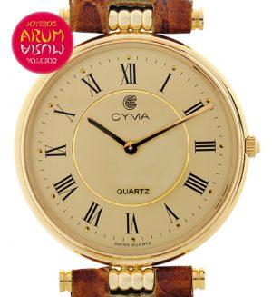 Cyma Classic 18K Gold Shop Ref. 3951/676