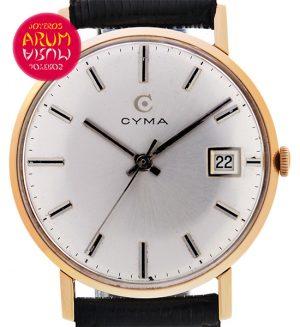 Cyma Vintage 18K Gold Shop Ref. 3974/699