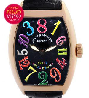 Franck Muller Crazy Color Dreams Shop Ref. 3989/714